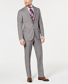 Men's Modern-Fit Step-Weave Suit