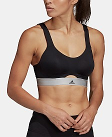 adidas Stronger Cross-Back High-Support Sports Bra