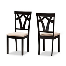 Set of 2 Sylvia Dining Chair, Quick Ship