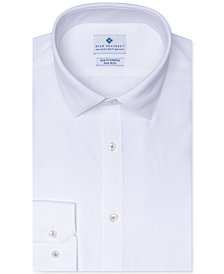 Ryan Seacrest Distinction™ Men's Ultimate Active Slim-Fit Performance Stretch Non-Iron Dobby Dress Shirt, Created for Macy's