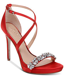 Jewel Badgley Mischka Dany Evening Sandals