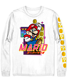 Mario Coin Blocks Men's Graphic T-Shirt