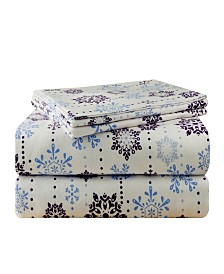 Pointehaven Luxury Weight Flannel Sheet Set King