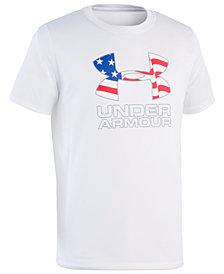 Under Armour Big Boys Logo-Print Rash Guard