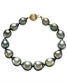 Tahitian Pearl Bracelet in 14k Gold (10mm)