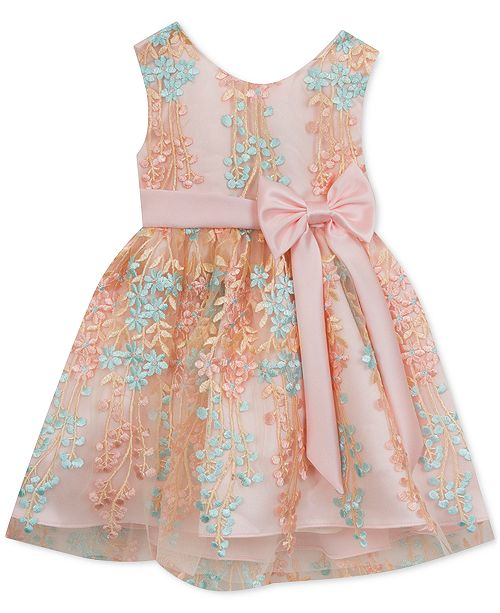 Rare Editions Baby Girls Embellished Party Dress