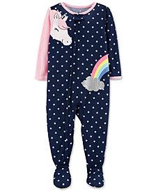 Carter's Baby Girls Unicorn Pajamas