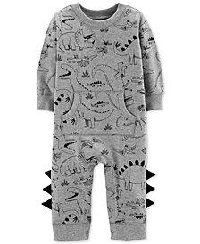 Carter's Baby Boys Dino-Print Coverall