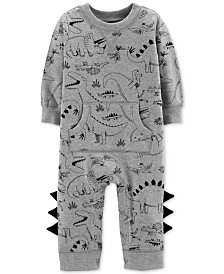 Carter's Baby Boys Dino-Print Coverall