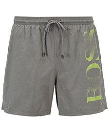 BOSS Men's Logo Swim Trunks