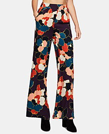 BCBGeneration Floral-Print Palazzo Pants