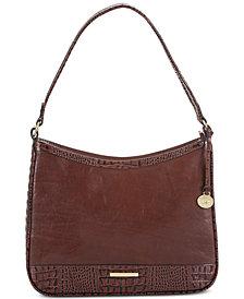 Brahmin Noelle Quincy Leather Shoulder Bag