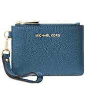 e25863b17b MICHAEL Michael Kors Mercer Pebble Leather Coin Purse