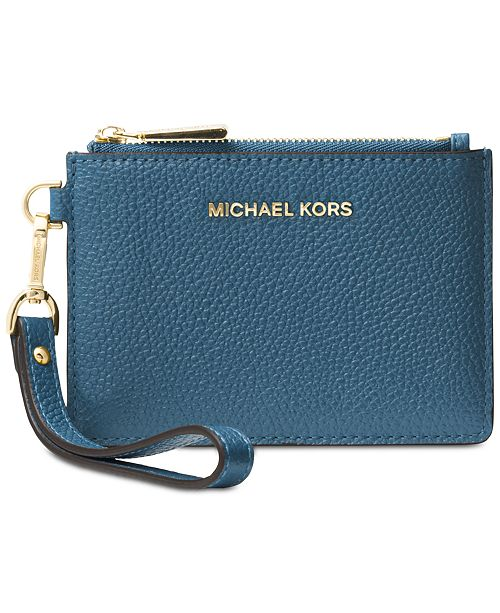 efdd011271da Michael Kors Mercer Pebble Leather Coin Purse. Macy s   Handbags    Accessories