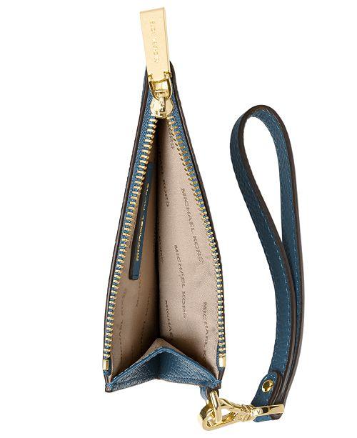 fddf542e04a9 Michael Kors Mercer Pebble Leather Coin Purse   Reviews - Handbags ...