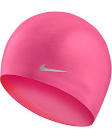 Nike Little & Big Boys & Girls Swim Solid Silicone Youth Cap