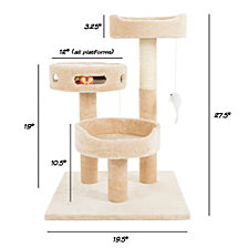 Cat Tree 3 Tier By Petmaker