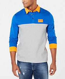 Calvin Klein Jeans Men's Colorblocked Rugby Shirt