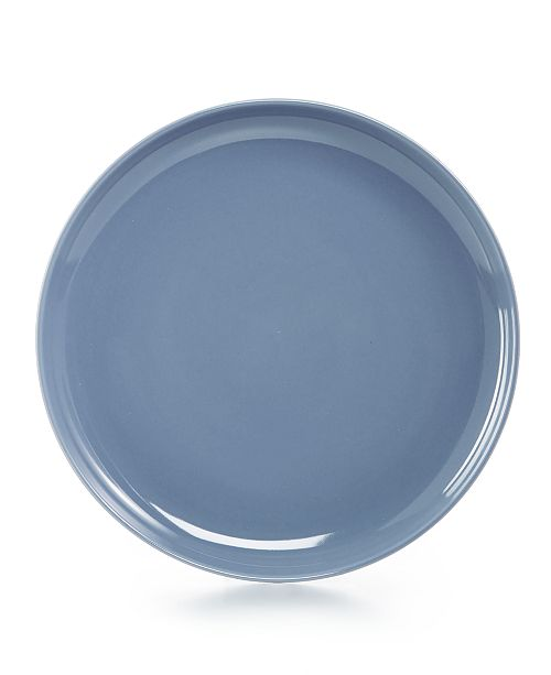 Hotel Collection Modern Dinnerware Porcelain Lake blue Salad Plate, Created for Macy's