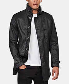 G-Star RAW Men's Garber Coated Denim Trench Coat, Created for Macy's