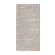 "Waterford Linea Napkin Taupe 21"" X 21"", Set of 2"