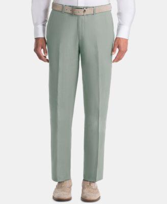 Men's UltraFlex Classic-Fit Sage Linen Pants