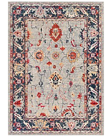 "Bohemian BOM-2302 Bright Red 9' x 13'1"" Area Rug"