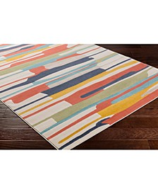 """City CIT-2339 Coral 18"""" Area Rug Swatch"""