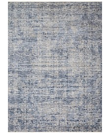 "Pandora PAN-03 Dark Blue 7'10"" x 10' Area Rug"