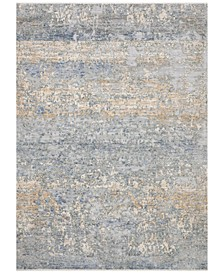 Pandora PAN-05 Blue/Gold 5' x 8' Area Rug