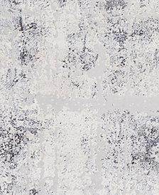 "Surya Genesis GNS-2305 Silver Gray 18"" Square Swatch"