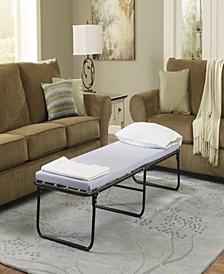 Simmons BeautySleep Memory Foam Foldaway Guest Bed
