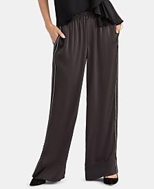 RACHEL Rachel Roy Zig Zag Wide-Leg Pants, Created for Macy's