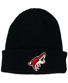 Authentic NHL Headwear Arizona Coyotes Fan Basic Cuff Knit Hat