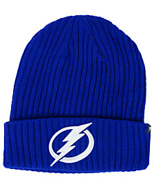 Authentic NHL Headwear Tampa Bay Lightning Fan Basic Cuff Knit Hat