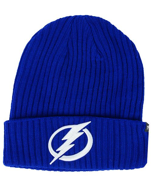 2ed9fe07a1a ... where to buy tampa bay lightning fan basic cuff knit hat. be the first  to