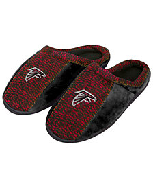 Forever Collectibles Atlanta Falcons Knit Cup Sole Slippers