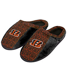 Forever Collectibles Cincinnati Bengals Knit Cup Sole Slippers