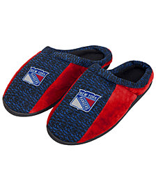 Forever Collectibles New York Rangers Knit Cup Sole Slippers