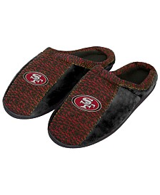 Forever Collectibles San Francisco 49ers Knit Cup Sole Slippers