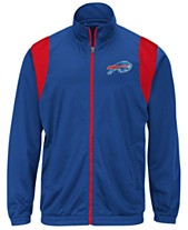 d89210981 G-III Sports Men s Buffalo Bills Clutch Time Track Jacket