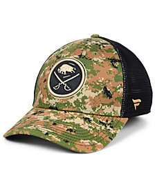 Authentic NHL Headwear Buffalo Sabres Military Appreciation Speed Flex Stretch Fitted Cap