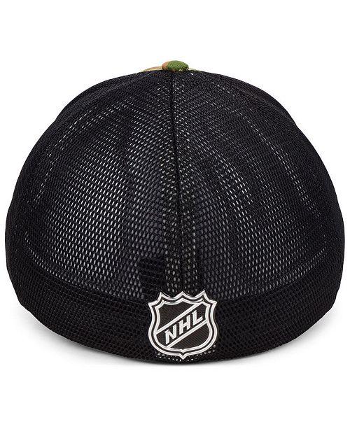 22f77fad4 Authentic NHL Headwear Ottawa Senators Military Appreciation Speed ...