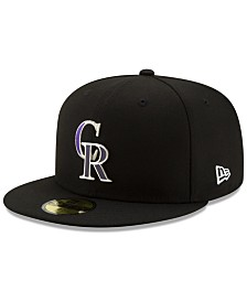 New Era Colorado Rockies Metal & Thread 59FIFTY-FITTED Cap