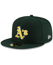 New Era Oakland Athletics Metal & Thread 59FIFTY-FITTED Cap