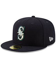 New Era Seattle Mariners Metal & Thread 59FIFTY-FITTED Cap