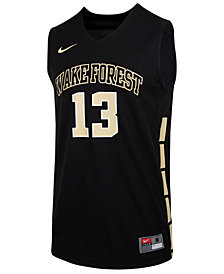 Nike Men's Wake Forest Demon Deacons Replica Basketball Jersey