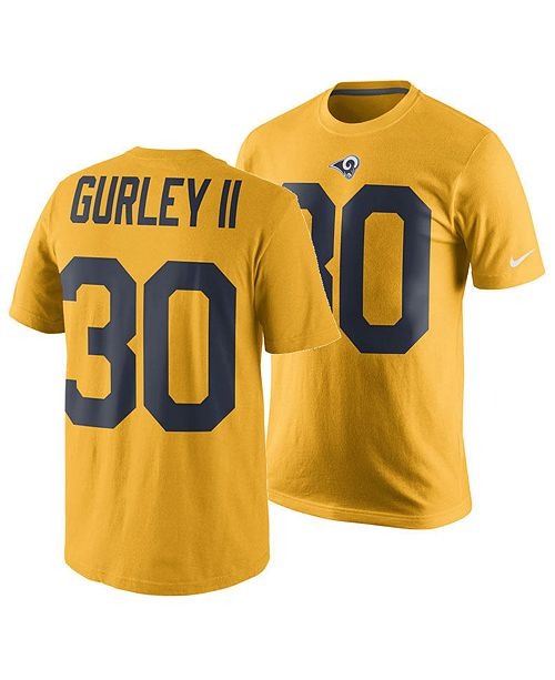 the latest 6ca8f 1f240 Nike Men's Todd Gurley Los Angeles Rams Pride Name and ...