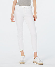 Celebrity Pink Juniors' White Denim Skinny Jeans