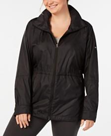 Columbia Plus Size Sustina Springs Windbreaker Jacket